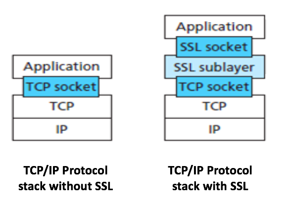 SSL position in transportion